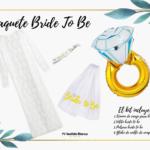 Kit nupcial 2 paquete para novia
