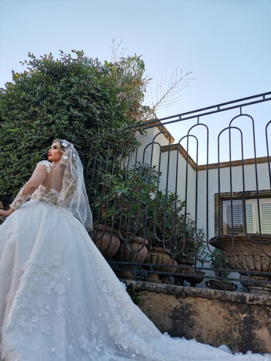 Vestidos de novia hermosos con cola