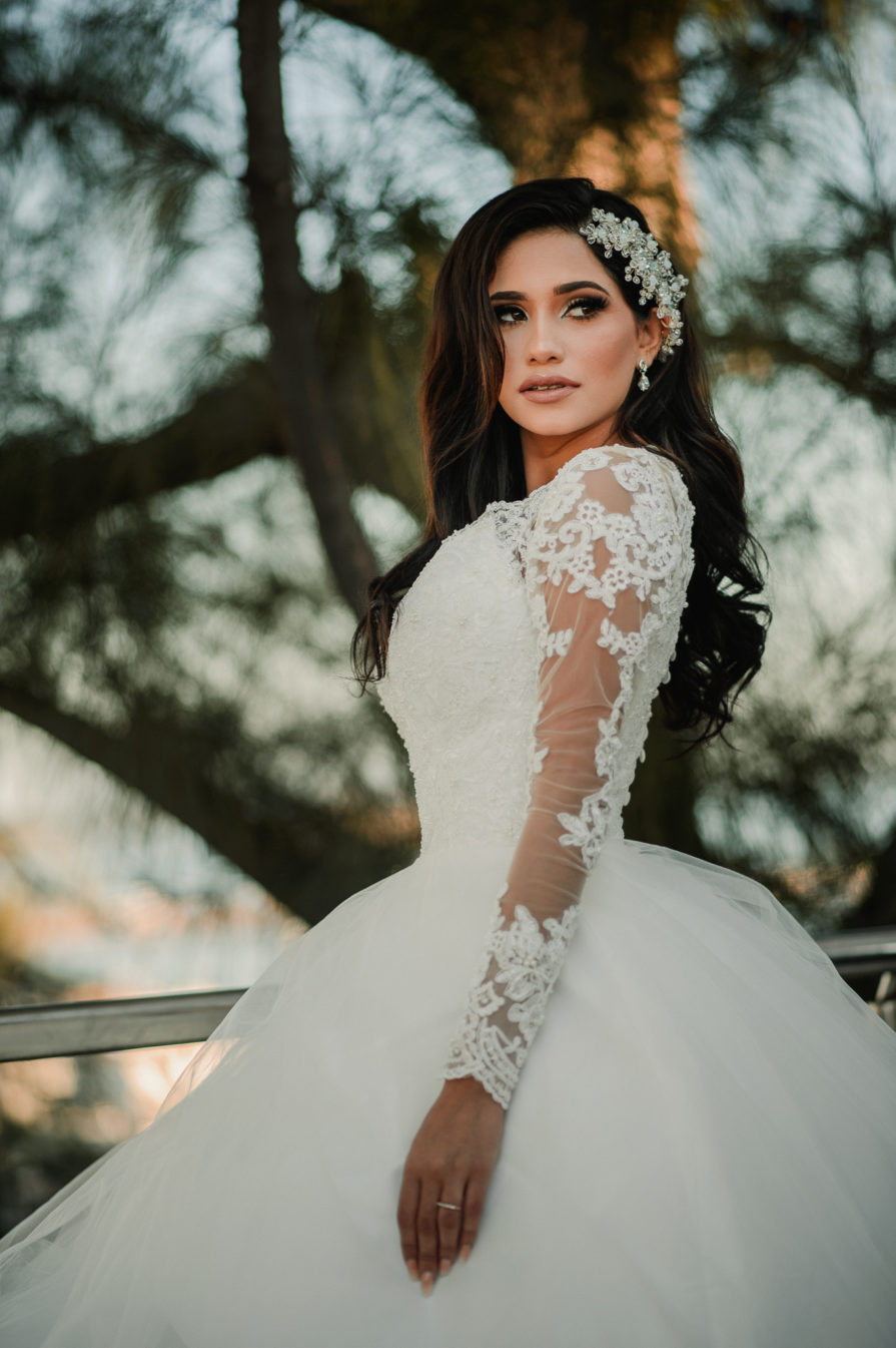 Vestidos de novia románticos clásicos
