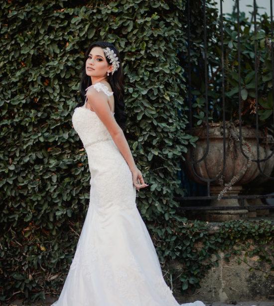 Vestidos de novia sencillos pero elegantes para boda civil