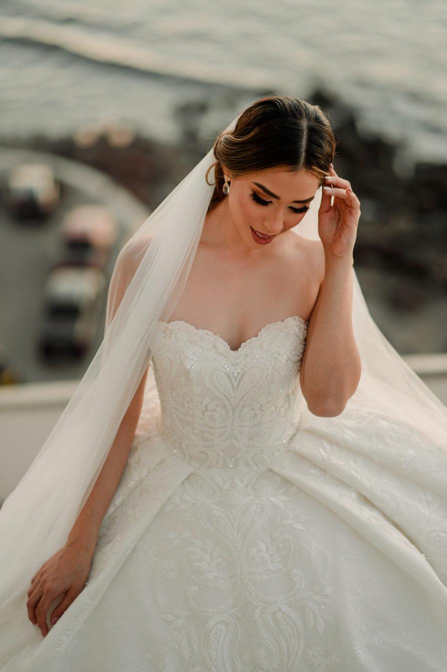 Vestidos de novia desmontables ampones