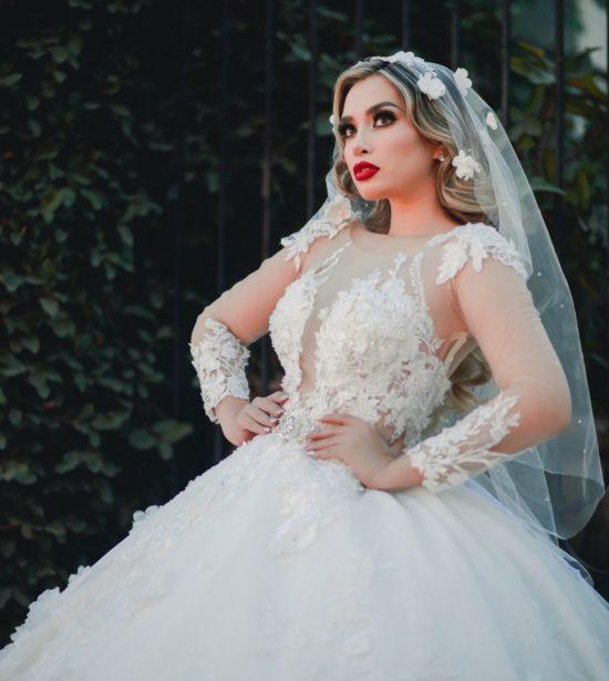 Vestidos de novia corte princesa hermosos
