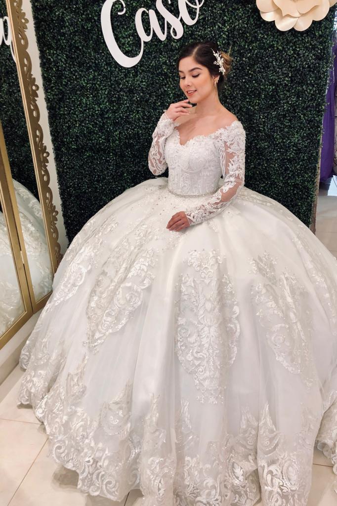 vestidos hermosos de novia