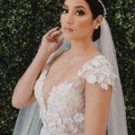 vestidos de novia para gorditas corte sirena con encaje