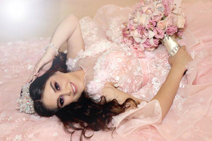 Vestidos de xv color rosa