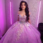 vestidos de 15 años 2021 color lila