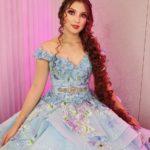 vestidos de 15 años princesa color azul