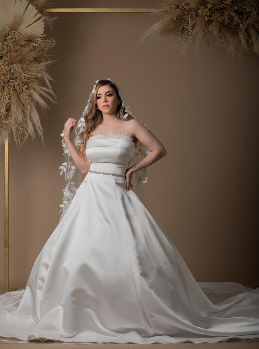 Vestidos de novia de satín