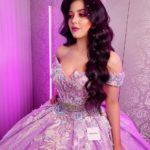 vestidos de quinceañera color lila