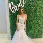 vestidos de novia corte sirena sencillos para boda civil