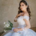 vestidos de novia bordados con manga larga