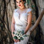 vestidos de novia mexicanos con encaje de boda civil