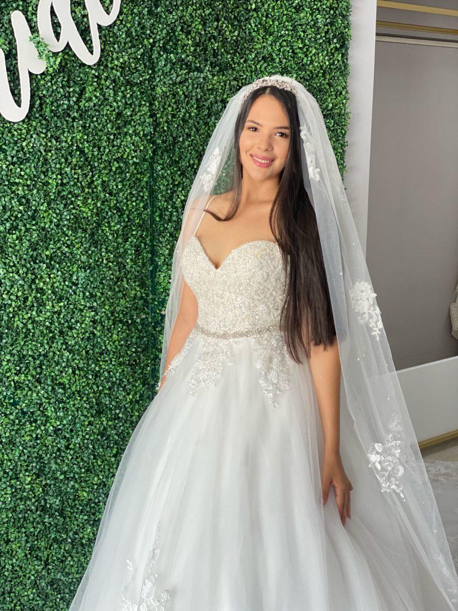 traje de novia para boda